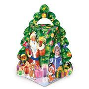 Упаковка картонная новогодняя Елочка мини Праздник фото