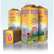 Картонная упаковка для молока
