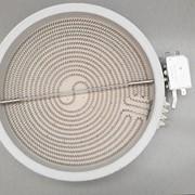 Конфорка для стеклокерамической плиты D=230мм, 2400W, 220-240V фото