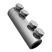 Гильзы кабельные болтовые со срываемыми головками на 4 алюминиевых болтах фото