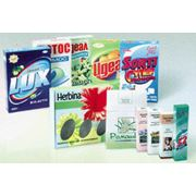 Упаковка потребительская из мелованного и немелованного картона хром-эрзац фото