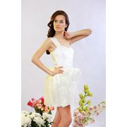 Платья вечерние белые фото
