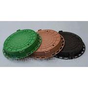 Люки канализационные полимерно-композитные фото