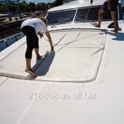 Подушки для Sundeck вашего катера\яхты. Пошив и перетяжка. фото