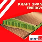 Сэндвич-панель энергосберегающая Kraft SPAN ENERGY. Стеновая фото