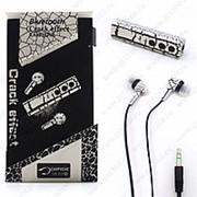 Bluetooth наушники Crack effect MS-808 WHITE с микрофоном фото