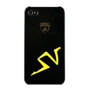 Крышка Lamborghini Murcielago для iPhone 4 чёрная фото