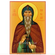 Икона Св. Прп. Геннадий Костромской фото