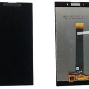Дисплей для Sony H4311 (L2 Dual) в сборе с тачскрином (черный) фото