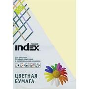 Бумага офисная Index Color, А4, 100 л, ваниль, 80 г фото