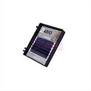Ресницы Flario Disco черно-фиолетовые - D – MIX (8-13) фото