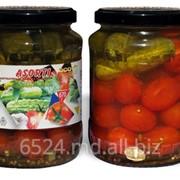 Огурцы и томаты маринованные фото