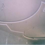 Возведение гипокартонных потолков фото