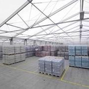 Складской тент Storage tent H-Line 30м h620 фото