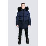 Куртка пуховая для мальчика АЗ16/14-235 фото