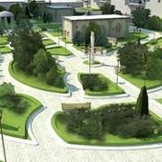 Благоустройство и озеленение в Астане фото