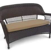 Плетеный диван Леовин фото