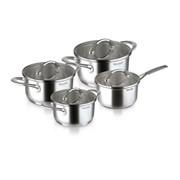Набор посуды Rondell Altera 8 предметов, нержавеющая сталь 18/10 фото