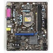 Материнская плата LGA-1155 MSI H61M-P21(B3) Intel H61 2 HD Graphics Micro-ATX oem фото