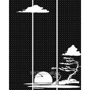 Услуга пескоструйной обработки на 3 стекла артикул 202-7 фото
