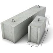 Фундаментные блоки ФБС фото