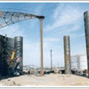 Монтаж стенки резервуара 20000 куб. м. рулонным методом фото