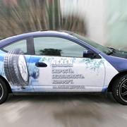 Размещение рекламы на внешних носителях, на транспорте фото