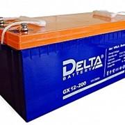 Аккумулятор DELTA GX 12-200 фото