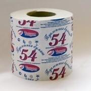 Туалетная бумага 54 на втулке фото