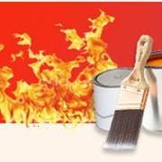 Нанесение огнезащитных покрытий строительных конструкций фото