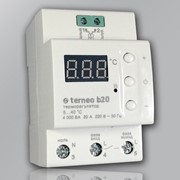Цифровой терморегулятор для теплого пола Terneo В20 фото