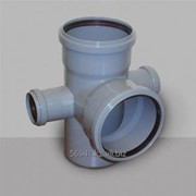 Крестовина канализационная двухплоскостная фото