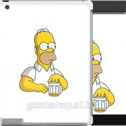 Чехол на iPad 2/3/4 Задумчивый Гомер Симпсоны 1234c-25 фото