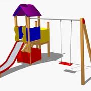 Детские игровой комплекс Мона фото