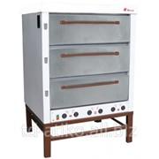 Хлебопекарная ярусная печь ХПЭ-500 фото