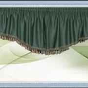 Изготовление шторы с ламбрекенами, портьер, штор французские фото