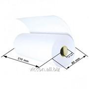 Бумага рулонная 210мм*100м HR210-100 фото