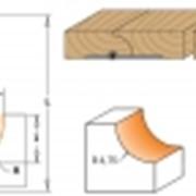 Фреза для внутреннего радиуса c подшипником TCT S=8 D=22,2x12,7 фото