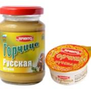 """Горчица """"РУССКАЯ"""" острая фото"""