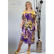 Сарафан 1654 Фиолетовый цвет фото