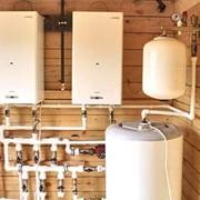 Автономное отопление частного дома. фото