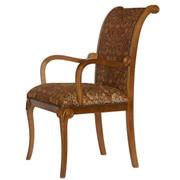 Кресла из массива бука с обивкой Лион фото