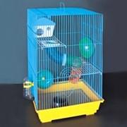Клетка для грызунов HOMеZOO №6 эмаль (35*28*54) (1*10) нк-103 6# фото