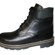 Ботинки кожаные фото