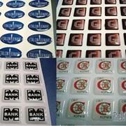 Объемные 3D наклейки, стикеры, визитки фото