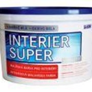 Малярная краска INTERIER SUPER (белая) фото