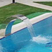 Водопад для бассейнов фото