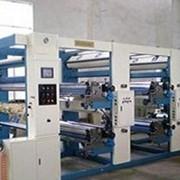 Флексографское 2 -4-х красочное секционное горизонтальное оборудование серии PU-XRCD-1000A фото