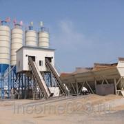 Бетонный завод HZS120 фото
