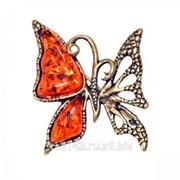 Брошь Бабочка Ажурная фото